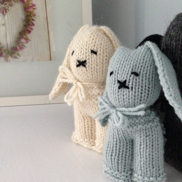 Free Pattern Be My Bunny