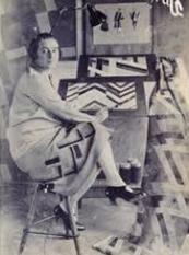 Sonia in her Paris studio