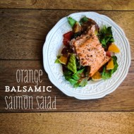 BALSAMIC SALMON SALAD