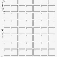 Monthly Plan Printable