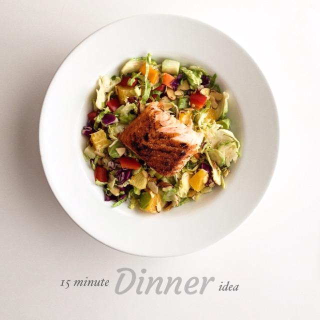 Paleo Salmon Salad