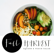 Fall Salad with Clementine Ginger Dressing