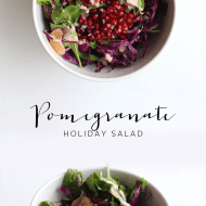 Pomegranate Holiday Salad