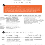 Eating Clean FREE Quick start Guide