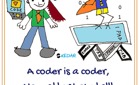 A Coder is a coder no matter how tall!