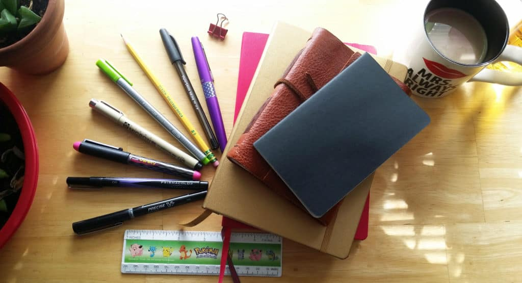 My Bullet Journal Necessities