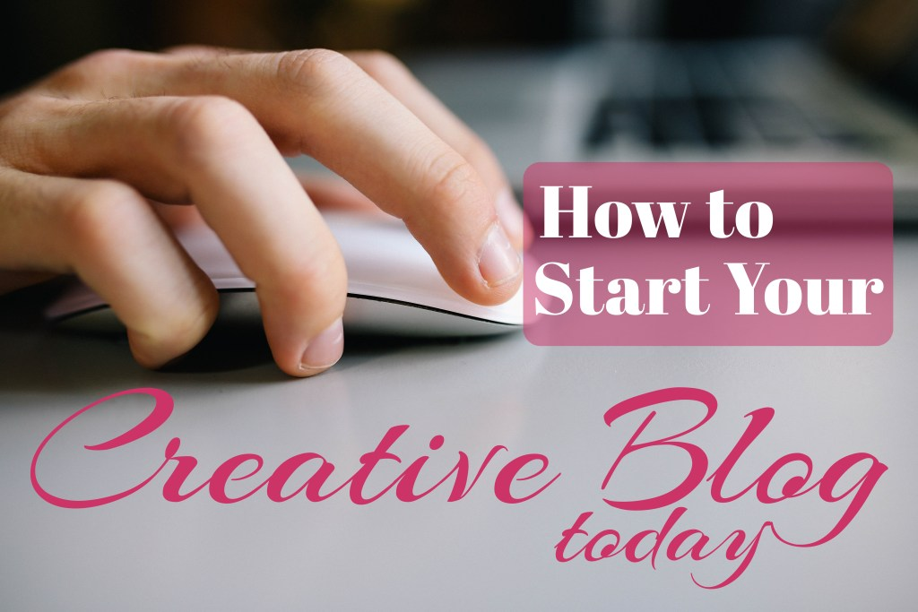 See how easy it is to start your own creative blog with this step by step guide!