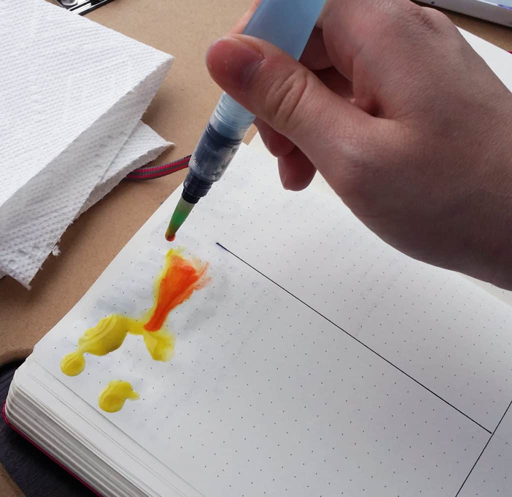 The Pentel Aquash Water Brush Pens are one of the most versatile tools I've ever come across. It can be used with so many different materials and create a ton of unique and exciting effects. Learn some of the basic techniques in my water brush tutorial!