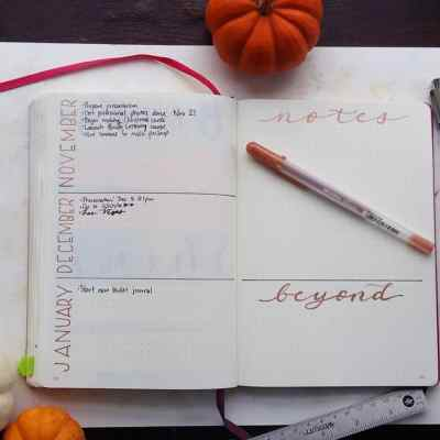 Building a Bullet Journal Future Log – How I Plan for Tomorrow in my Planner