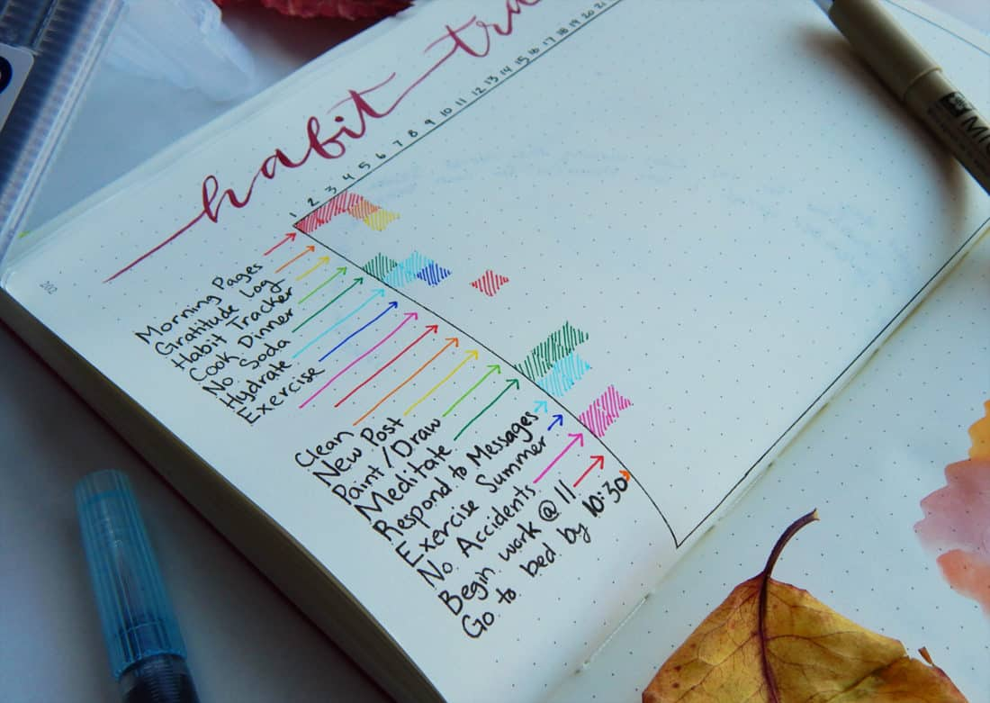 40 Things To Track In Your Habit Tracker Free Printable