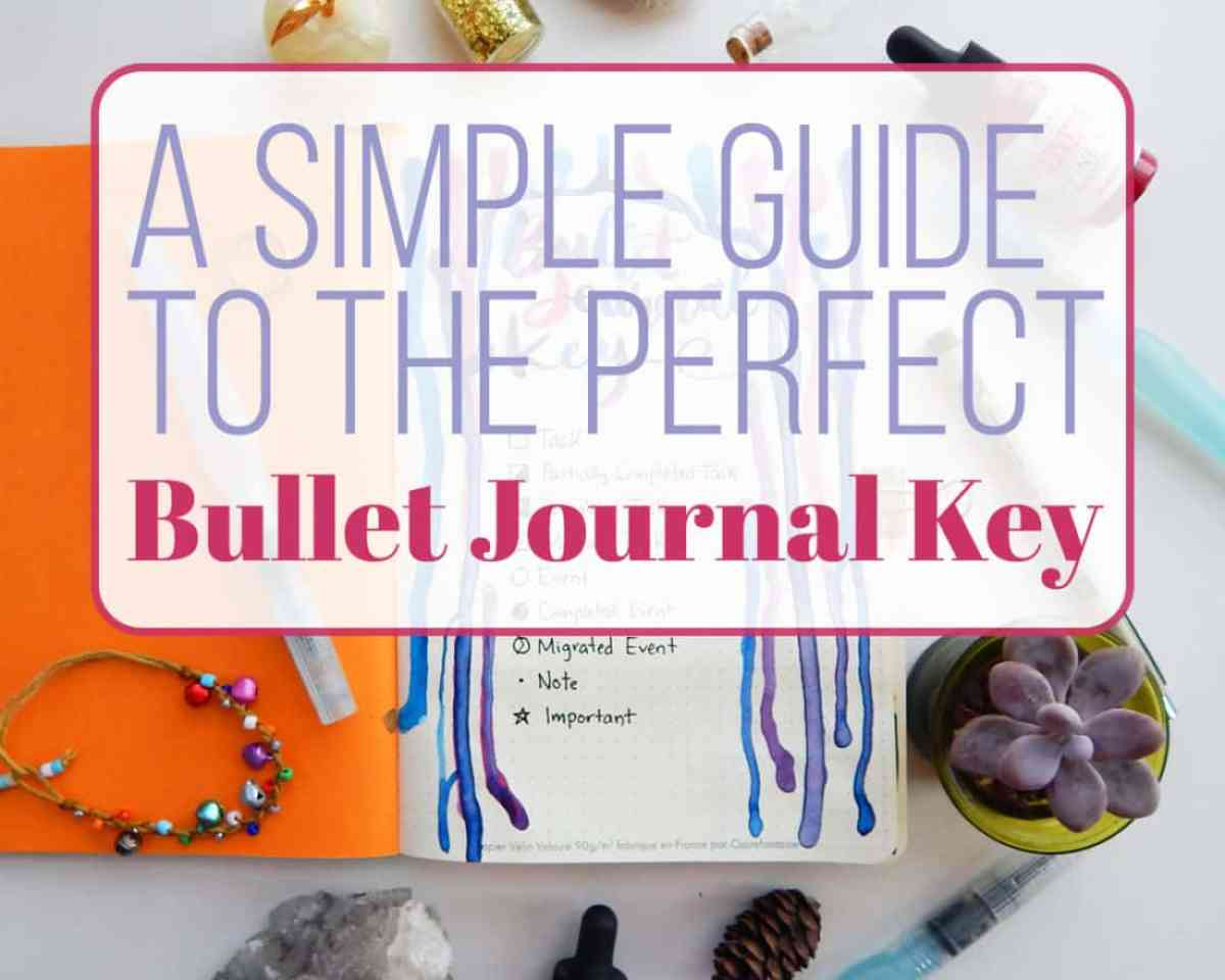 A bullet journal key is something that is super easy to do and can have many benefits. Check out how this simple little page can help increase your efficiency and help you gain confidence in your bullet journal!