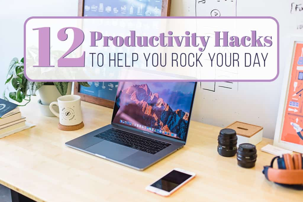 Being productive can be tough sometimes, especially if you have low energy days, annoying coworkers, or tons of distractions. But there are a few productivity hacks that can help you get an edge on your work!