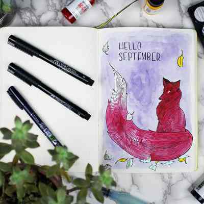 Plan With Me – My September Monthly Layout