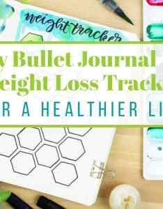 Bullet journal weight loss tracker also my littlecoffeefox rh