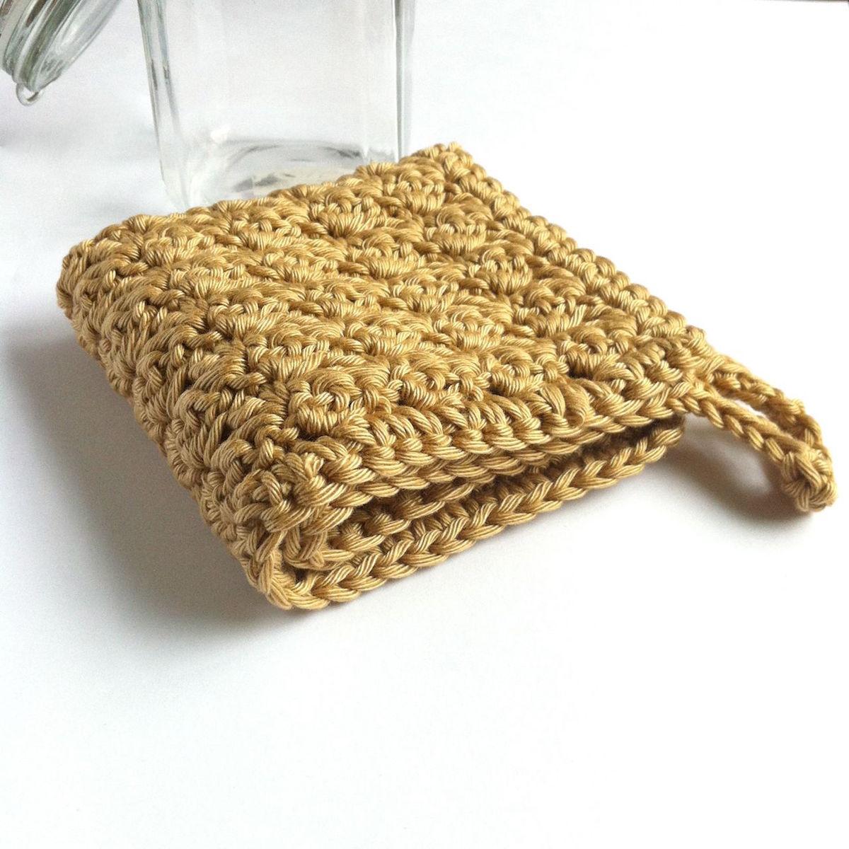 Little Conkers Crochet Washcloth Pattern