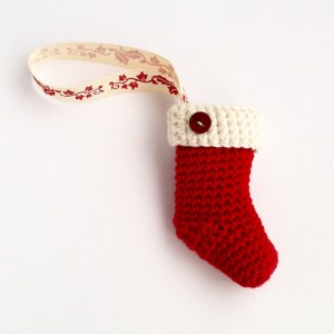 Little Conkers Christmas Stocking Pattern