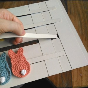 Cereal Box Brooch Holder