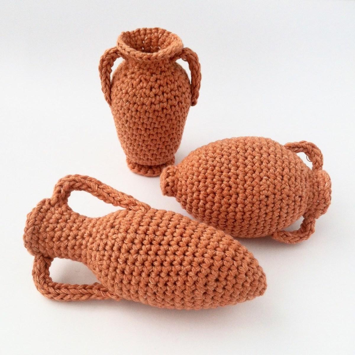 Crocheted Amphorae