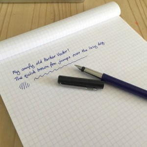 Parker Vector Fountain Pen Review