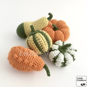 Decorative Gourds and Pumpkins