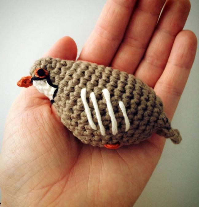Partridge in a Pear Tree Crochet Pattern
