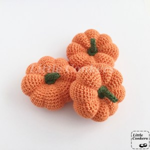 Mini Handmade Pumpkin Ornaments
