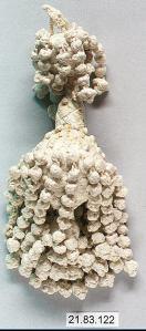 17th Century Linen Collar Tassel