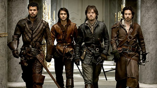 BBC Musketeers Historical Costume