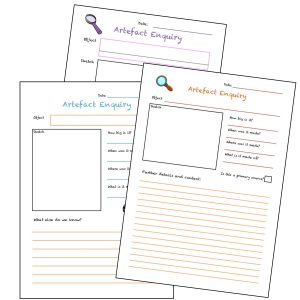 Artefact Enquiry Sheets for Museums