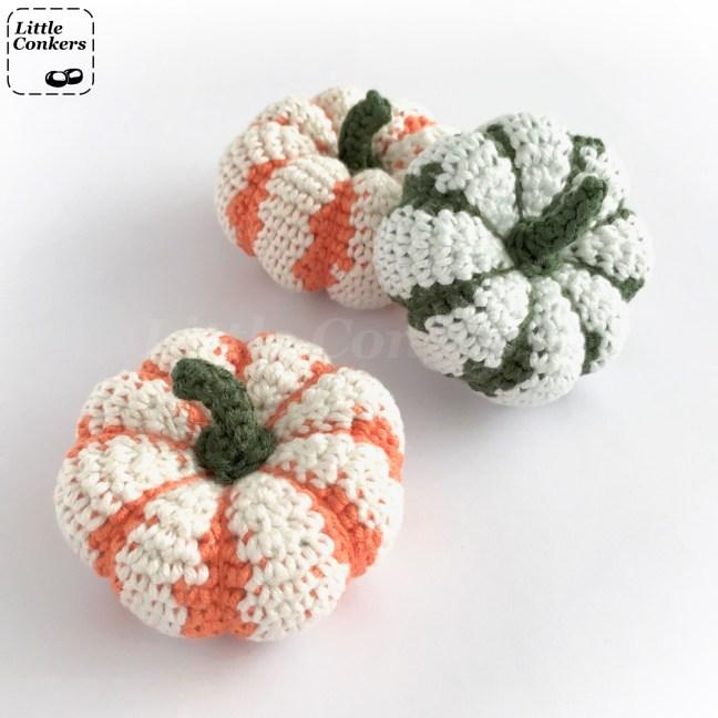 Striped Pumpkin Crochet Pattern
