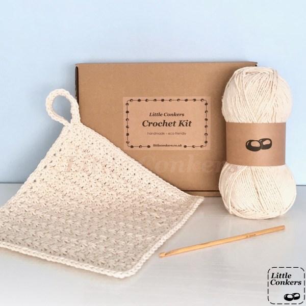 Eco-friendly Dishcloth Crochet Kit