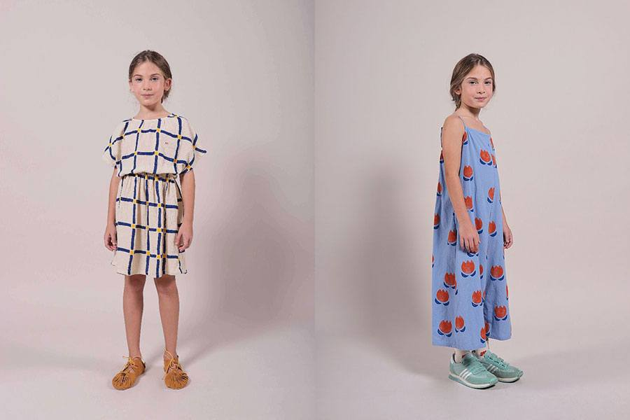 cube all over woven dress and cholocate flowers