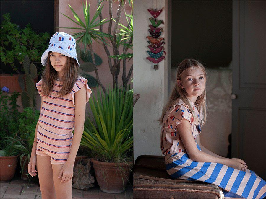 bonmet playsuit wide stripe dress