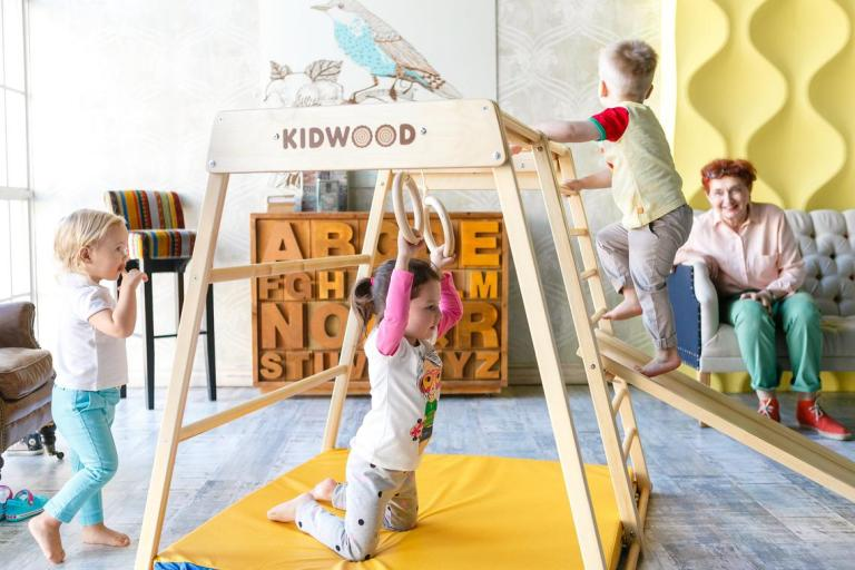 kidwood indoor game set