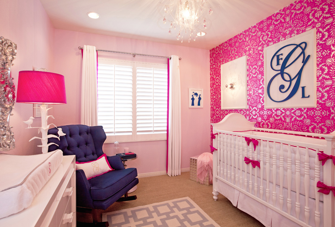 hot pink nursery