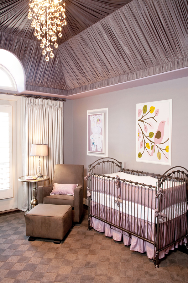 lavender girl nursery