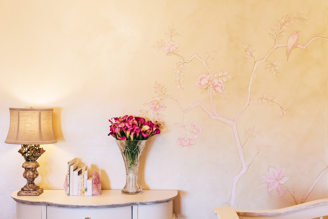Custom Nursery Wall Mural | Little Crown Interiors