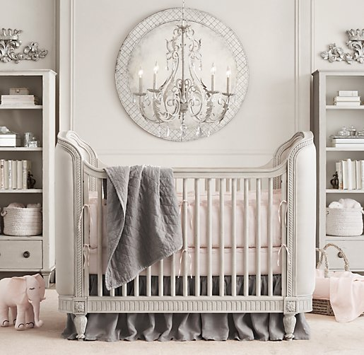 Vintage Get Gorgeous with an Upholstered Crib