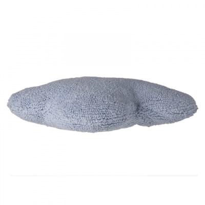 blue cloud pillow