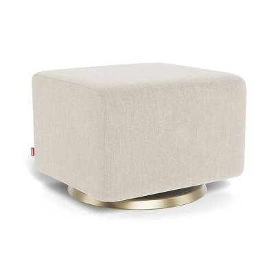 Modern Nursery Ottoman, Neutral