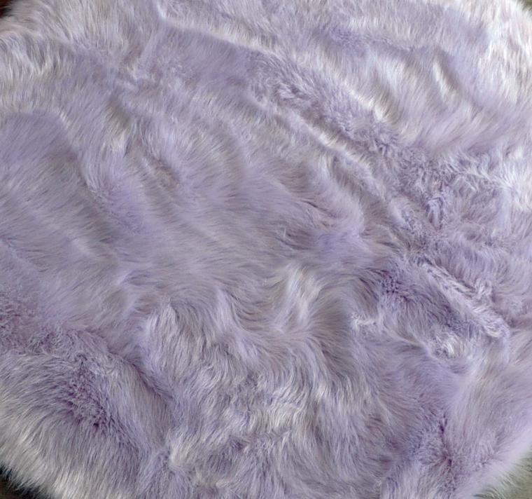 Lavender Cloud Sheepskin Rug