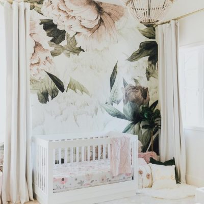 My Favorite Nursery Wall Murals | Little Crown Interiors