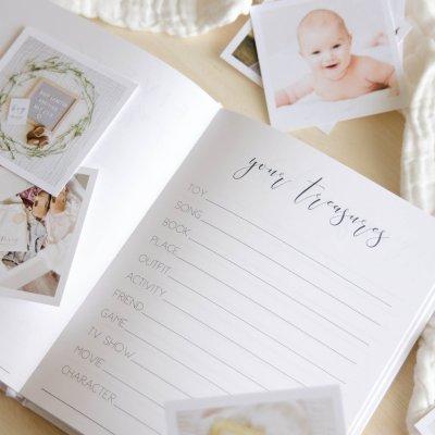 Hello Little Love Baby Journal   Little Crown Interiors Shop