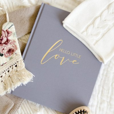 Hello Little Love Baby Journal | Little Crown Interiors Shop