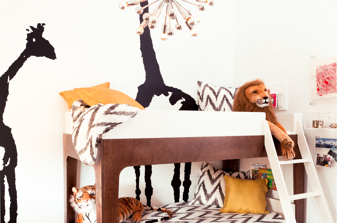 Modern boy's bedroom