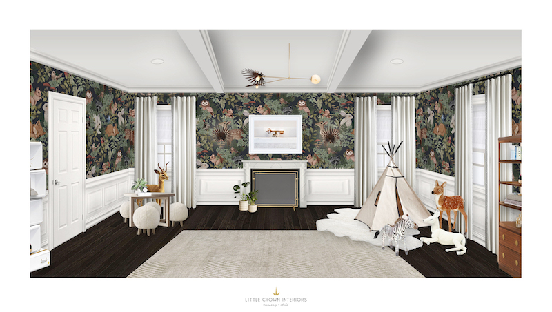 Luxury Boy's Room E-Design by Little Crown Interiors