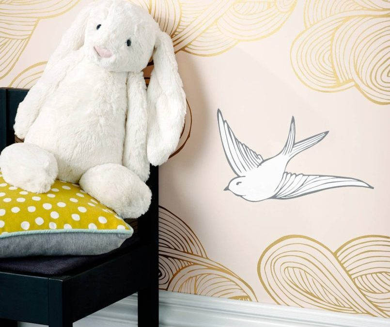 My Favorite Nursery Wallpaper and Wall Murals