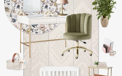How to Create a Stylish Work at Home Mom Office