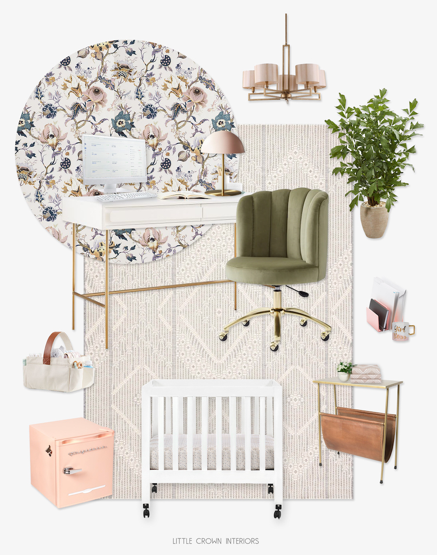 Work at Home Mom Office and Nursery