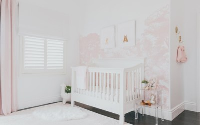 Design Reveal: Pretty in Pink Nature-Inspired Nursery